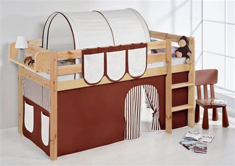 bunk bed curtains uk childrens cabin bed bunk bed midsleeper jelle nature with