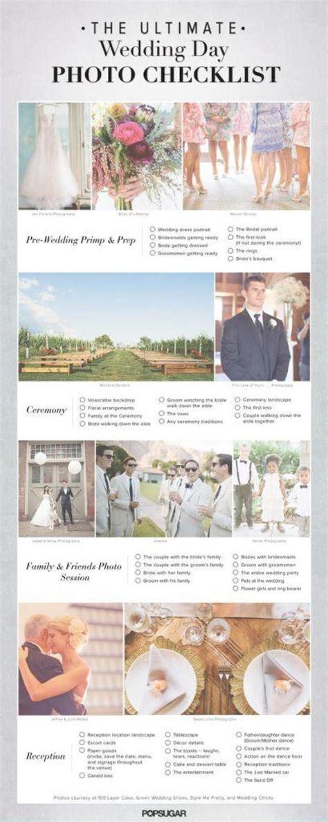 Wedding Photo List by Printable Wedding Day Photo Checklist Diy Weddings Magazine