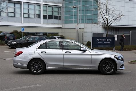 2017 Mercedes C by 2017 Mercedes C Class Facelift Spied In Germany