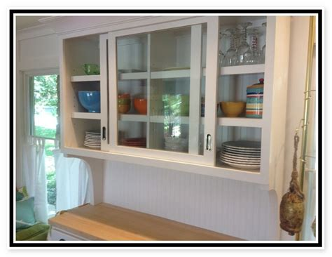 Kitchen Cabinets Sliding Doors Sliding Glass Kitchen Cabinet Doors Information