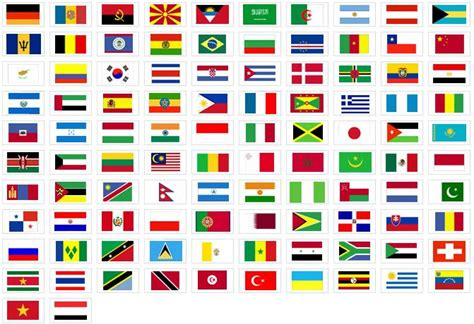 dibujos de banderas del mundo para imprimir im 225 genes con banderas del mundo vozbol blog