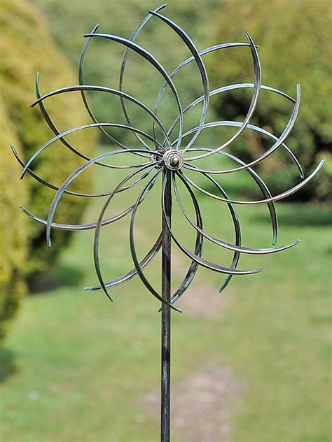 Wind Spinners For Garden by Copper Pinwheel Wind Spinner