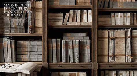 restoration hardware bookshelves stout design restoration hardware bookshelves