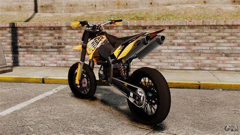 Gta 5 Cross Motorrad Cheat by Ktm Exc 450 Supermotard For Gta 4