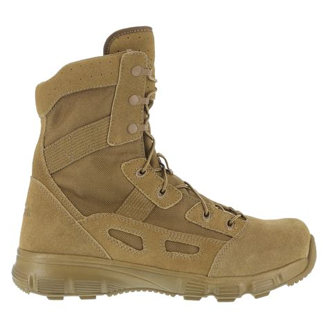 Sepatu Boot Tactical Unitewin 8in reebok mens coyote suede 8in tactical boots hyper velocity soft toe