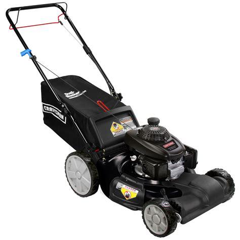 craftsman  baq cc  honda engine front wheel drive lawn mower  high rear wheels