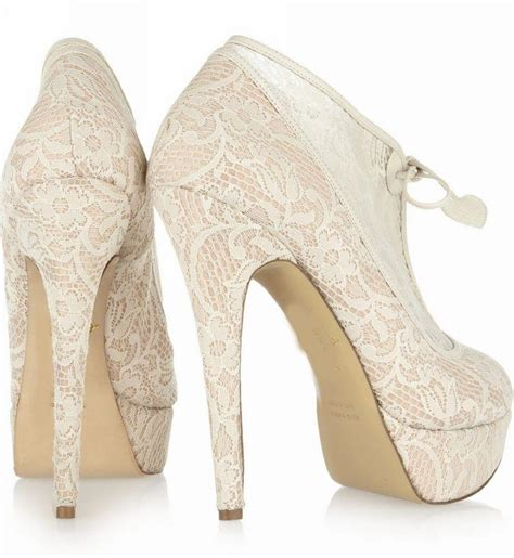 2016 winter lace wedding boots high heels wedding shoes