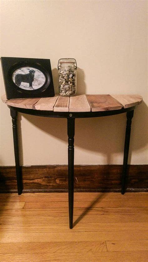 half circle entry table 10 diy entryway decor and storage ideas diy to
