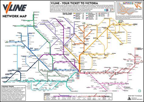 line map a regional rail map