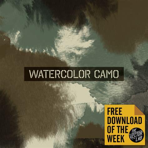 watercolor tutorial download watercolor camo free download tutorial of the week