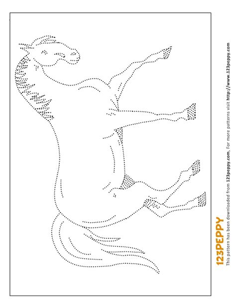 pattern horse drawing printable how to draw pattern arab horse