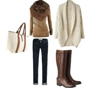 sweater boots jeans bag scarf long sleeve shirt