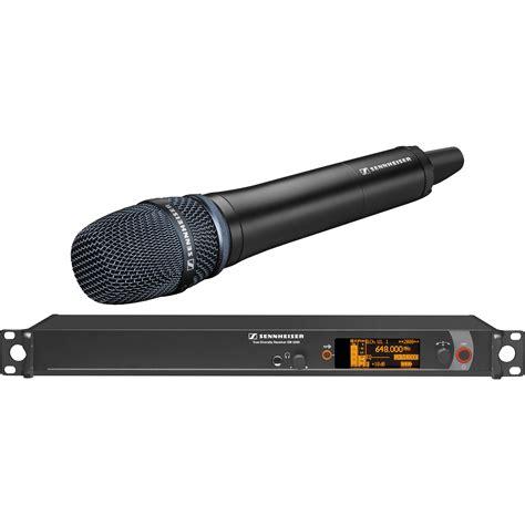 Mic Wireless Shennheiser Em 2500 Heandhel sennheiser 2000h1 205 wireless system with em 2000h1 205bk