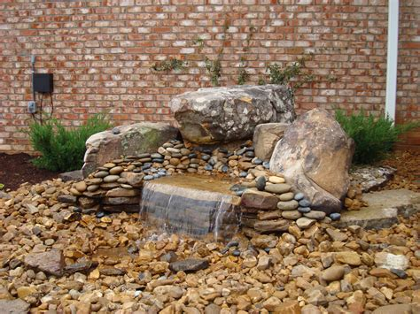 small pondless water features morris nursery