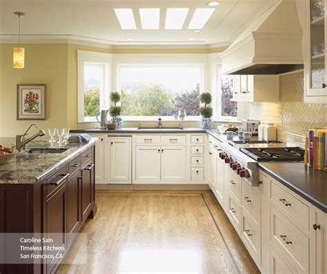 kitchens with off white cabinets off white kitchen cabinets omega cabinetry