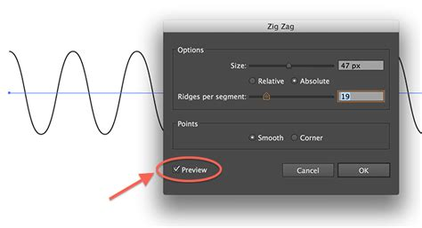 how to make a zigzag pattern in illustrator tweaking4all com illustrator how to draw a sound wave