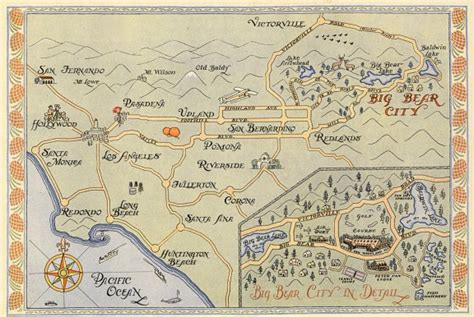 california map book pan woodland club book big california 1925