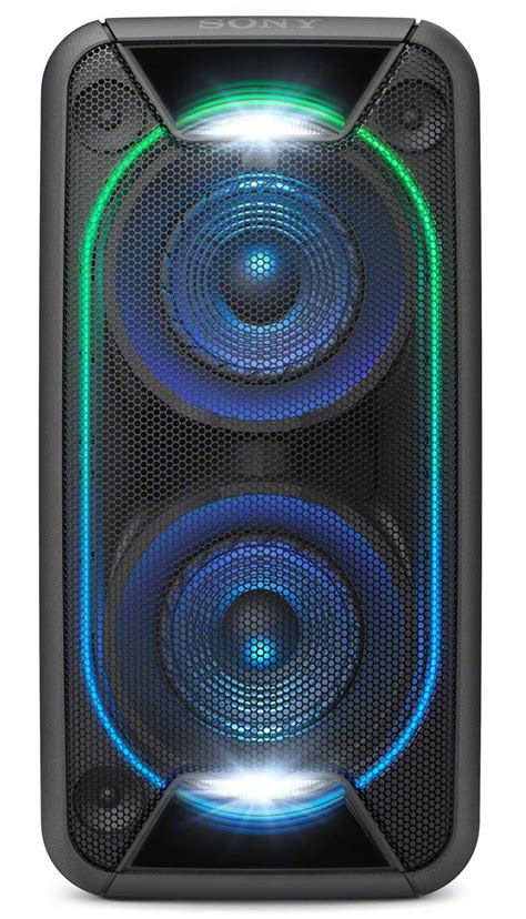 sony black high power home audio system gtk xb