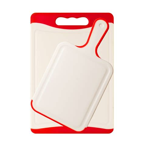 Different Kitchen Knives Plastic Cutting Board Sets