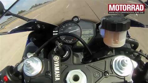 Bremsweg Motorrad by Bmw S1000rr Beschleunigung Highspeed Bremsweg