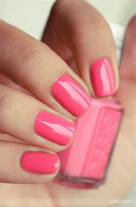 7 Most Fashionable Nail Polishes Of Today by Best 25 Essie Pink Nail Ideas On Pink