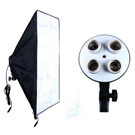 Softbox Payung payung softbox reflektor 50x70cm e27 four l socket black jakartanotebook