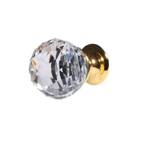 Mini Door Knobs by 8pcs Mini Golden Clear Glass Door Knobs Kitchen