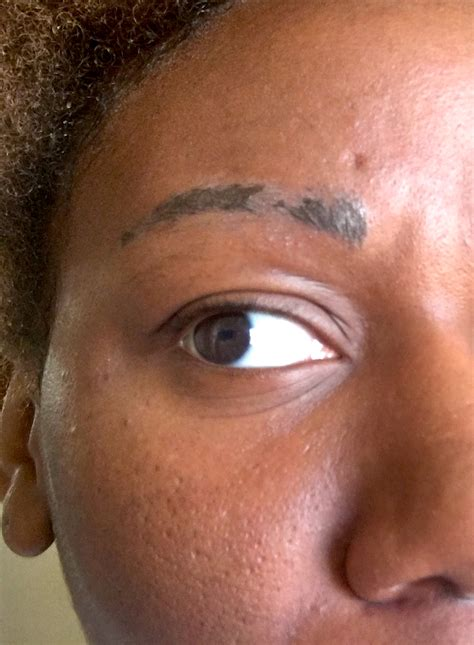 eyebrow tattoo scabbing is my microblading permanent eyebrow