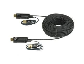 Diskon Kabel Hdmi Gepeng 30 Meter aten aktiv optisk hdmi kabel 30 meter kabelbutiken