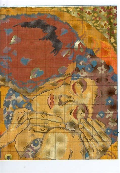 cuadros famosos en punto de cruz gratis solo patrones punto cruz cuadros pinterest punto de