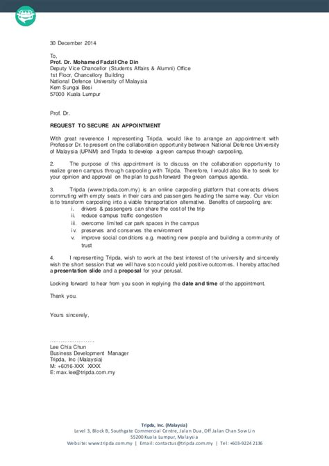 Appointment Letter In Malaysia How To Write An Appointment Letter