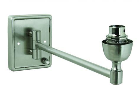 Swing Arm L Base by Lighting Australia Rectangular Base Single Swing Arm