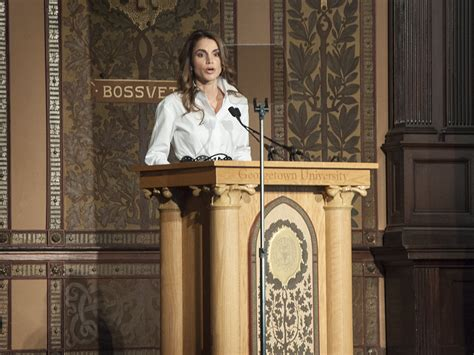 film queen rani queen of jordan advocates refugees rights in film event