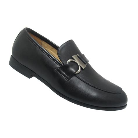 boys dress loafers laundry boys edgar dress black loafer