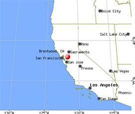 brentwood california map brentwood california ca 94513 profile population maps