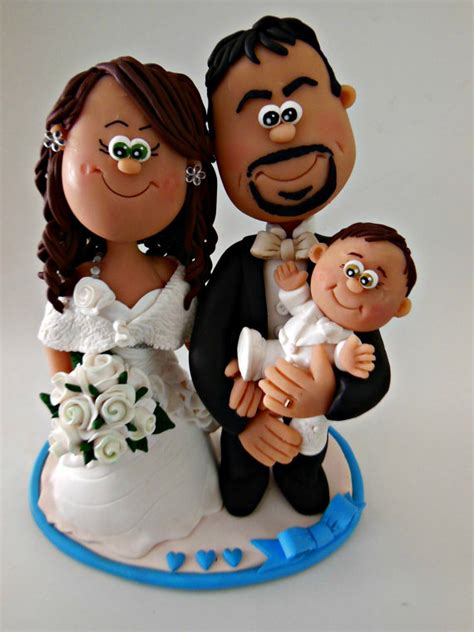 wedding cake topper with child personalised wedding cake topper with child
