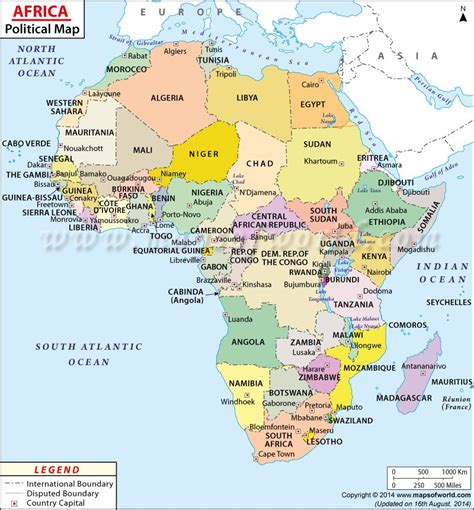 Labeled Map Of Africa Www Imgkid The Image Kid Has It