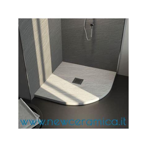 piatto doccia in resina piatto doccia angolare texturizzato in marmo resina rocky
