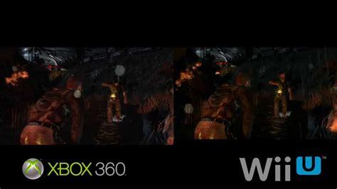 wii vs xbox 1 graphics splinter cell blacklist wii u vs xbox 360 graphics