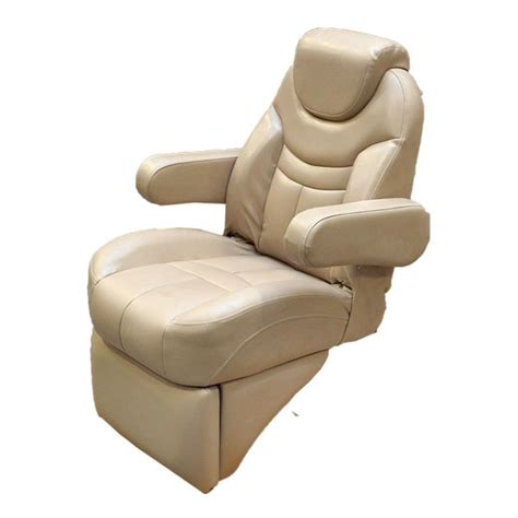 pontoon boat chairs misty harbor reclining pontoon boat captains chair w