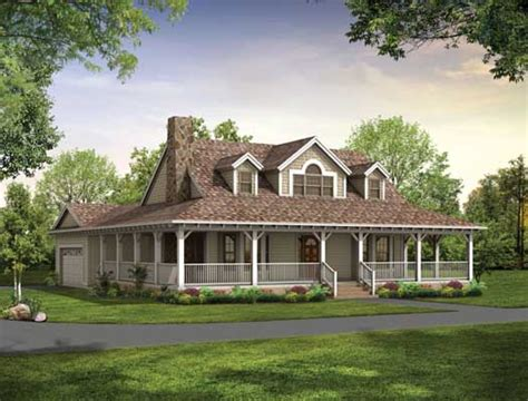 farm style house plans 1673 square foot home 2 story