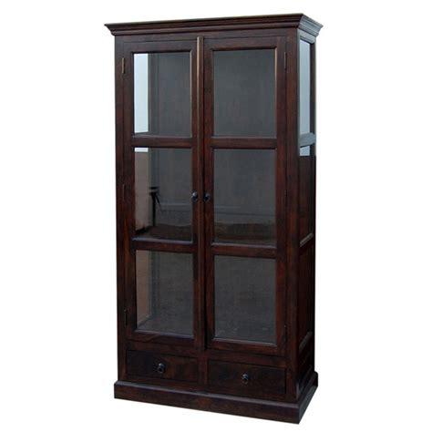 librerie con ante in vetro vetrina libreria con ante a vetro etnico outlet mobili