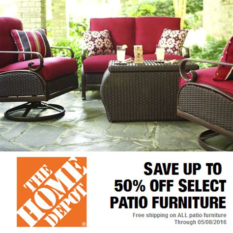 Patio Furniture Clearance Sale Home Depot Patio Furniture 30 50 Free S H Mybargainbuddy