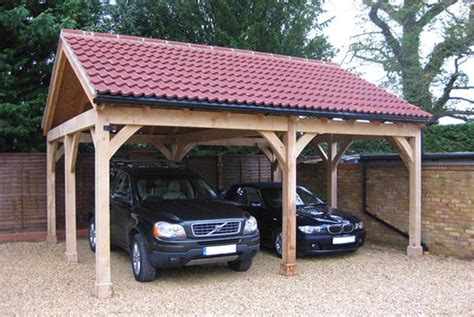 Oak Car Port by Carport Projects