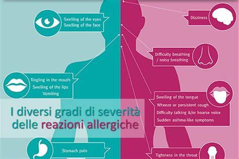 reazione allergica alimentare differenti trattamenti per diversi gradi di severit 224 delle