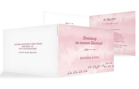 Hochzeitseinladung Boho by Hochzeitseinladung Quot Boho Quot