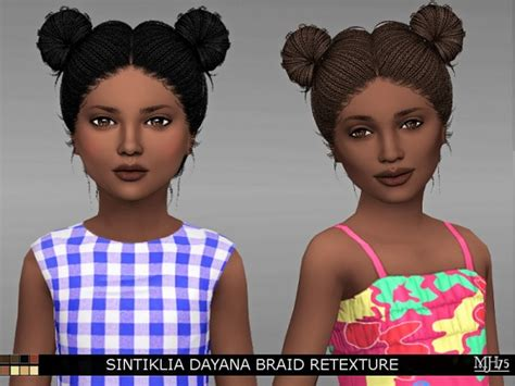 side braid custom content sims 4 custom content side braid newhairstylesformen2014 com