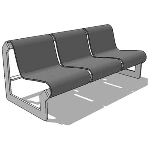 waiting area chairs 3d model waiting chair 01 3d model formfonts 3d models textures