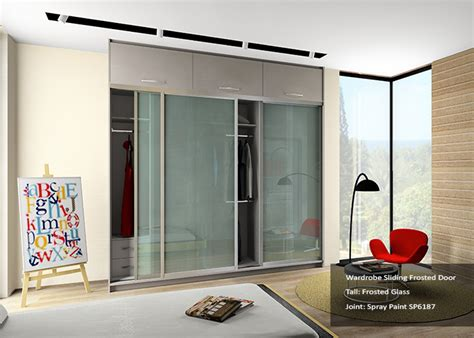 Frosted Glass Wardrobe Doors by Frosted Glass Door Wardrobe Design Wall Cabinet Provider