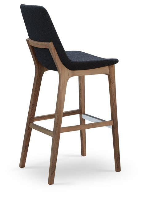Modern Wood Bar Stool by Eiffel Wood Stool By Sohoconcept Modern Bar Stools And